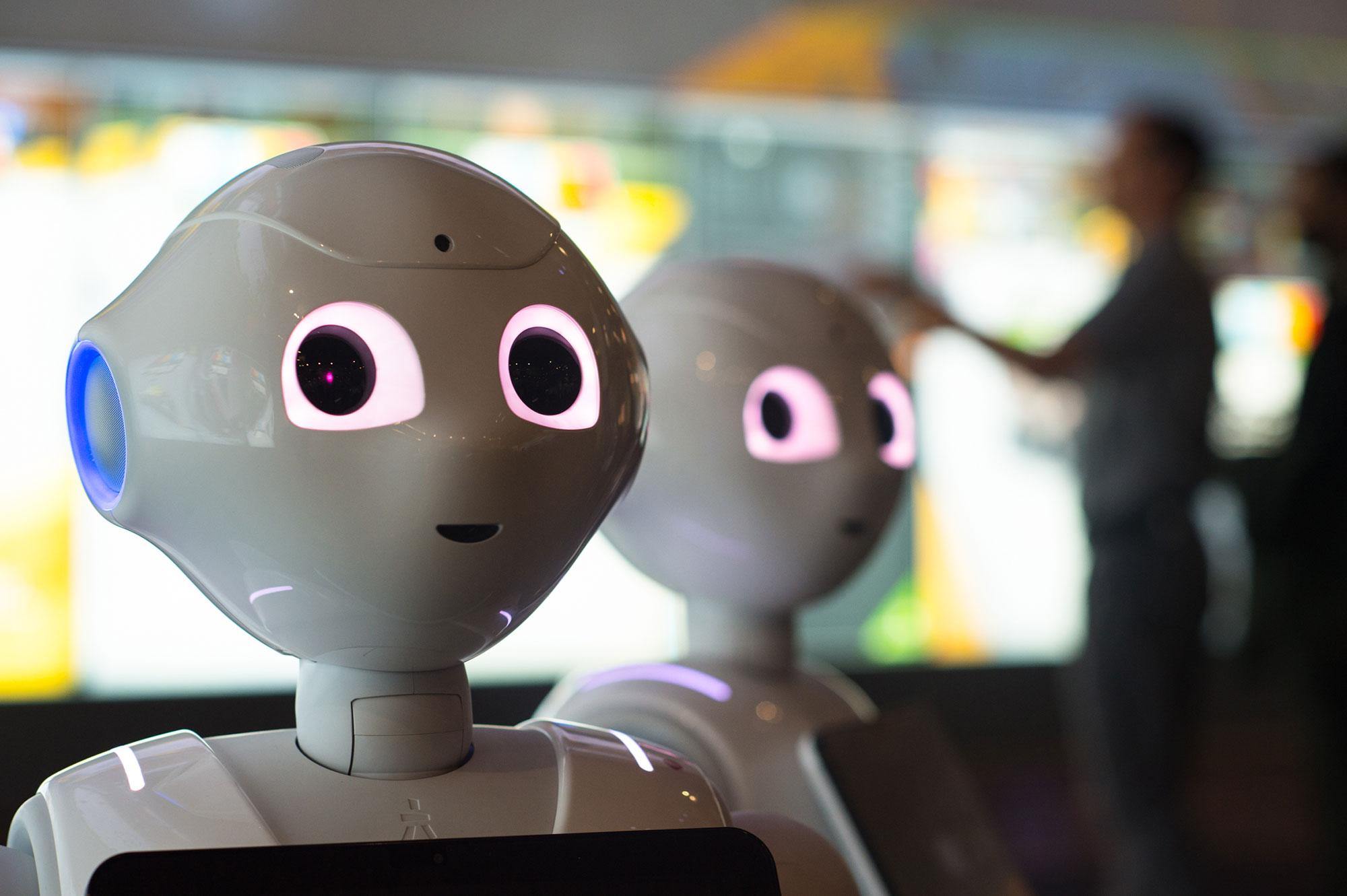 Pepper the robot at QUT
