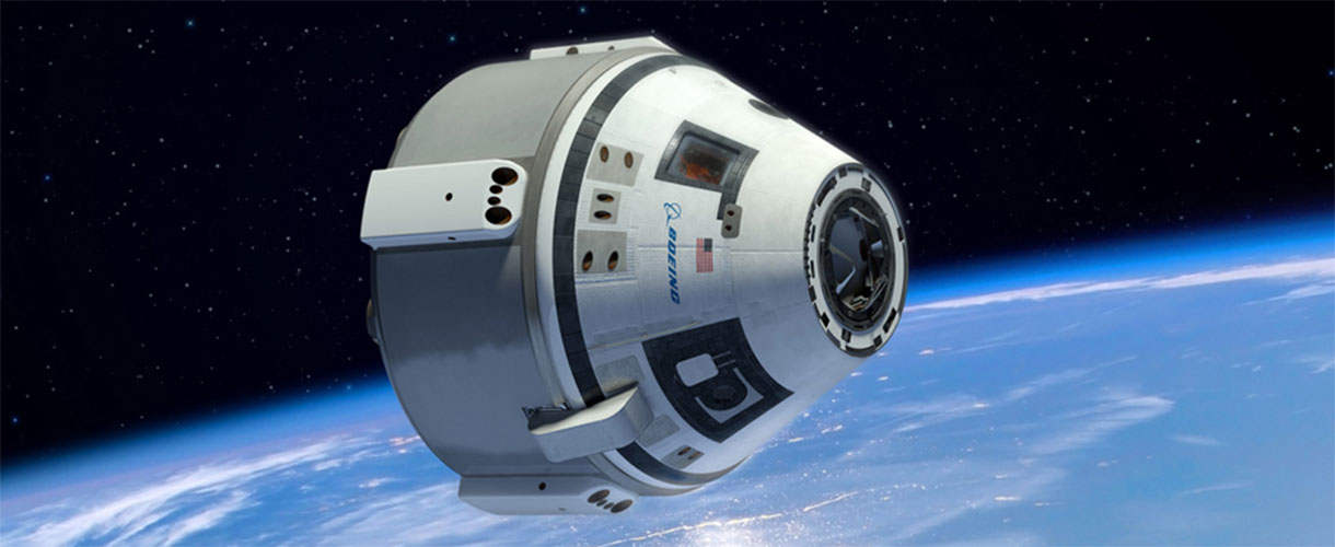 boeing in space